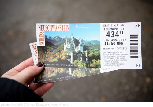 Neuschwanstein Castle Tickets, photo Ashley Deason