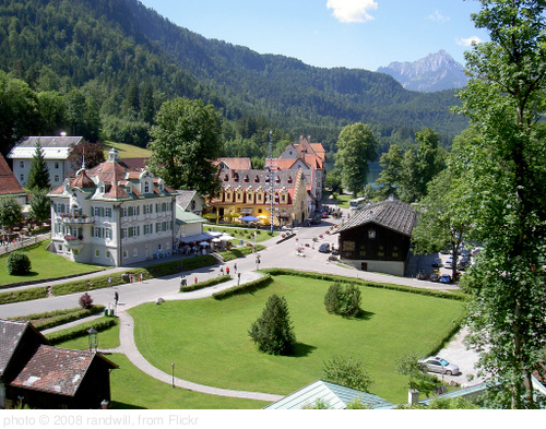 Neuschwanstein Village, photo randwill